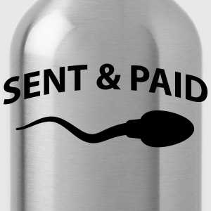 Sent and paid T-shirts - Drinkfles