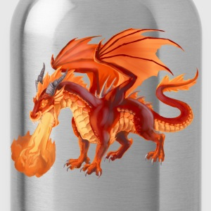 fire dragon T-Shirts - Trinkflasche