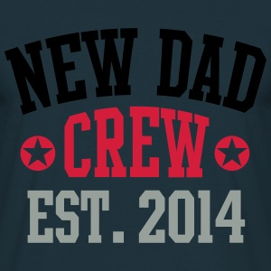 NEW DAD CREW Established 2014 3C Sweatshirt - T-skjorte for menn
