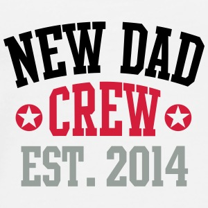 NEW DAD CREW Established 2014 3C Beer Mug - Mannen Premium T-shirt