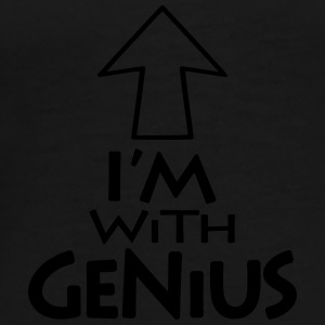 Im with Genius v1 (1c) Kasketter & Huer - Herre premium T-shirt