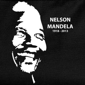 Black Nelson Mandela Portrait T-Shirts - Kids' Backpack