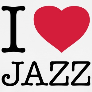 I ♥ JAZZ - Men's Premium T-Shirt
