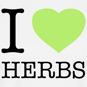 I ♥ HERBS - Men's Premium T-Shirt