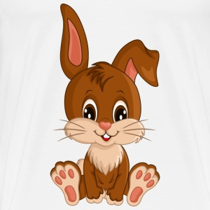 Bunny cartoon_boy.png Langarmshirts - Männer Premium T-Shirt