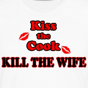 Kiss the Cook, kill the Wife - Männer Premium Langarmshirt