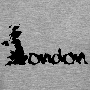 United Kingdom London England T-shirts - Mannen Premium shirt met lange mouwen