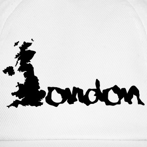 United Kingdom London England Magliette - Cappello con visiera