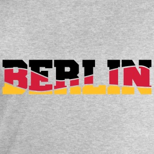 Berlin Germany Flag Logo T-Shirts - Men's Sweatshirt by Stanley & Stella