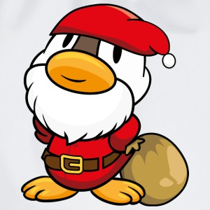 Duck Santa Claus T-Shirts - Drawstring Bag