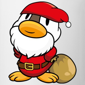 Duck Santa Claus T-Shirts - Mug