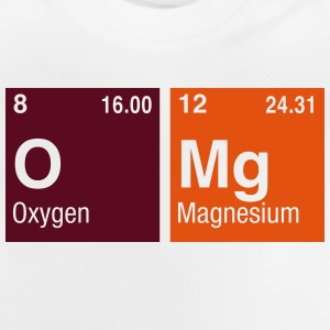 OMg written with Elements of the Periodic Table Shirts - Baby T-Shirt