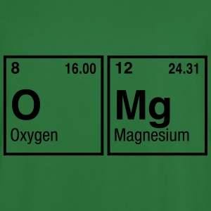 OMg written with Elements of the Periodic Table Hoodies & Sweatshirts - Men's Football Jersey