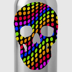 hippie skull T-Shirts - Water Bottle