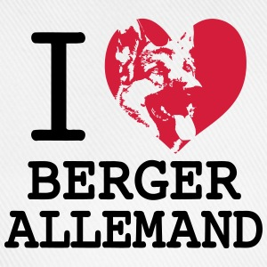 I love Berger Allemand Tee shirts - Casquette classique