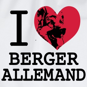 I love Berger Allemand 2 Sweat-shirts - Sac de sport léger