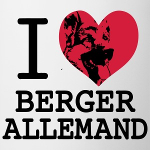 I love Berger Allemand 2 Sweat-shirts - Tasse
