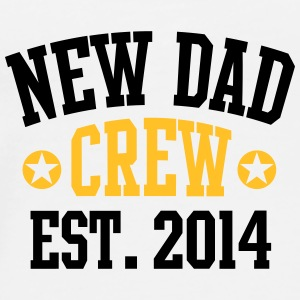 NEW DAD CREW Established 2014 2C Mug / Tasse - Premium T-skjorte for menn