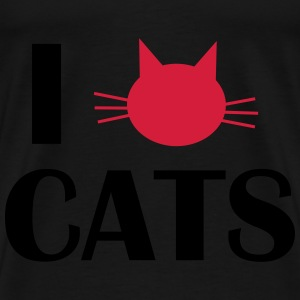 i love cats Sweat-shirts - T-shirt Premium Homme