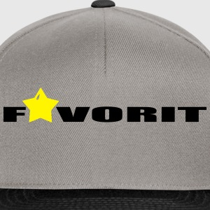 favorit T-Shirts - Snapback Cap