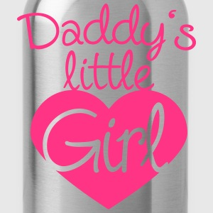 Daddys Little Girl Heart Logo T-Shirts - Trinkflasche