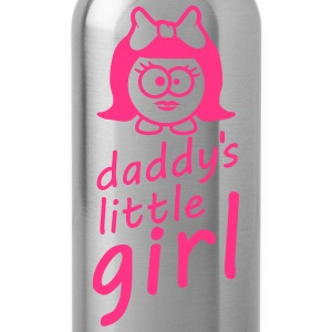Daddys Little Baby Girl Shirts - Water Bottle