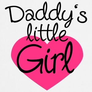Daddys Little Girl Heart Logo T-Shirts - Cooking Apron