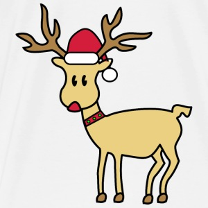 rudolph the red nosed reindeer Tasker & rygsække - Herre premium T-shirt