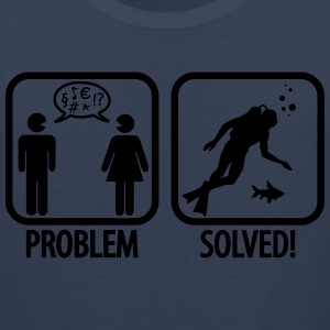 Scuba Diving: Problem - Solved! T-Shirts - Men's Premium Tank Top