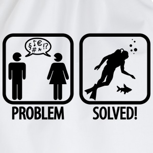Scuba Diving: Problem - Solved! T-shirts - Gymtas