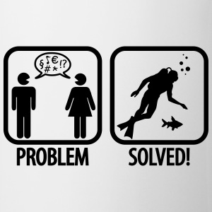 Scuba Diving: Problem - Solved! T-shirts - Mugg