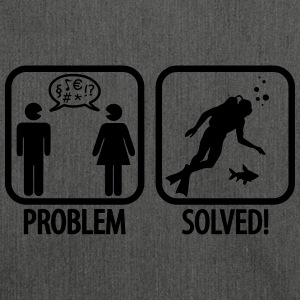 Scuba Diving: Problem - Solved! Pullover & Hoodies - Schultertasche aus Recycling-Material