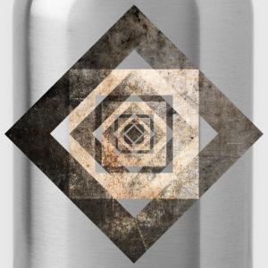 Geometric Art Shirts - Water Bottle