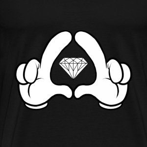 The Gloves and Diamonds Sweater - Mannen Premium T-shirt
