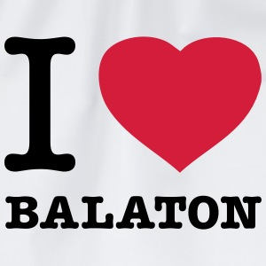 I ♥ BALATON  Aprons - Drawstring Bag