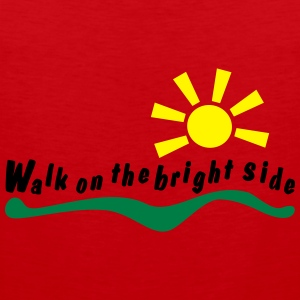 walk on the bright side Felpe - Canotta premium da uomo