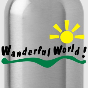 wanderful world T-shirts - Drikkeflaske
