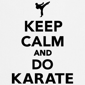 Keep calm and do Karate Flaschen & Tassen - Kochschürze