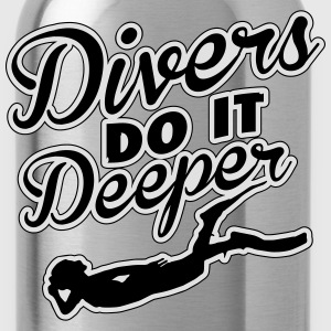 Divers do it deeper Koszulki - Bidon