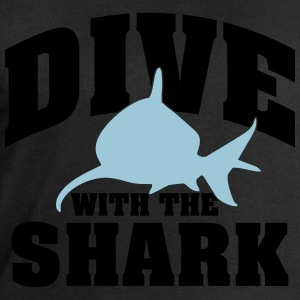 Dive wiht the shark T-Shirts - Men's Sweatshirt by Stanley & Stella