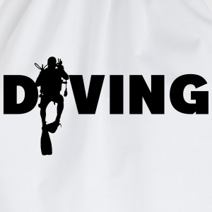 Diving T-Shirts - Turnbeutel