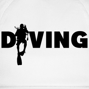 Diving T-Shirts - Baseballkappe