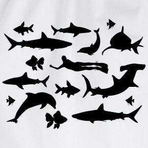 Diving T-shirts - Gymnastikpåse