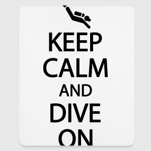 Keep calm and dive on T-shirts - Muismatje (portrait)