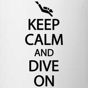Keep calm and dive on Koszulki - Kubek