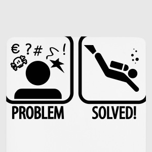 Diving: Problem - Solved! T-shirts - Muismatje (portrait)