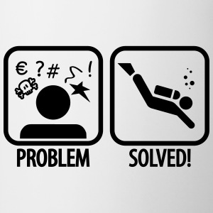 Diving: Problem - Solved! T-Shirts - Tasse