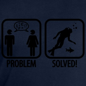 Scuba Diving: Problem - Solved! T-skjorter - Sweatshirts for menn fra Stanley & Stella