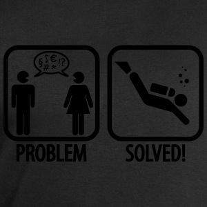 Diving: Problem - Solved! T-Shirts - Männer Sweatshirt von Stanley & Stella