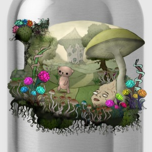 Trip among shrooms - Water Bottle